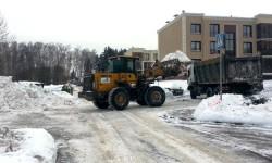Московские коммунальщики продолжают работать в усиленном режиме