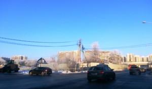 Будет расширение дорог к Солнцево чтобы жители могли добираться от метро Саларьево