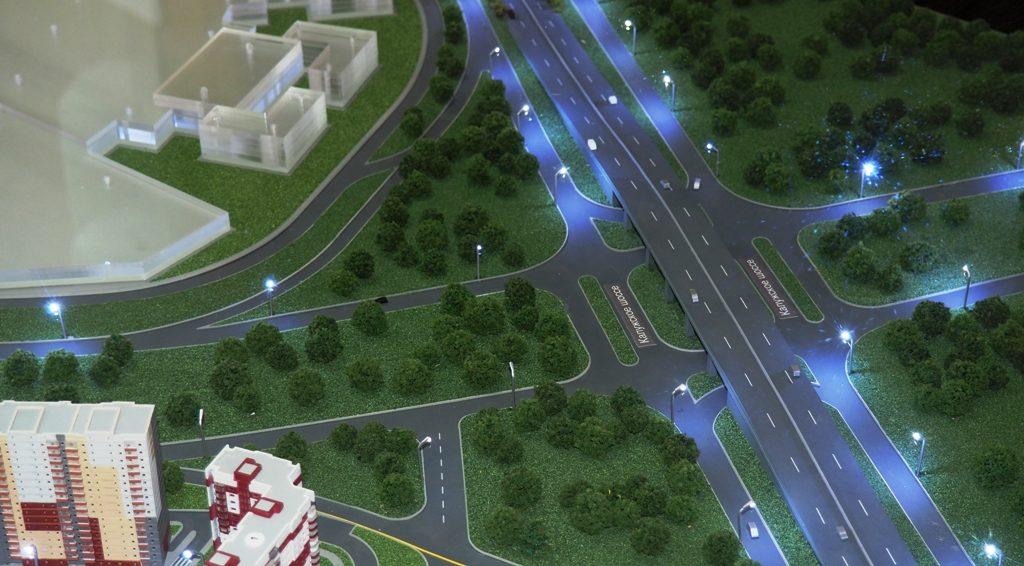 Закончено строительство моста на Калужском шоссе в поселении Десеновское