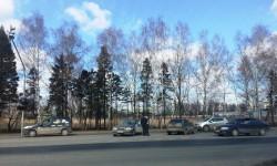 ДТП на перекрёстке Новомосковский округ, Десёновское, микрорайон Новые Ватутинки, квартал Южный