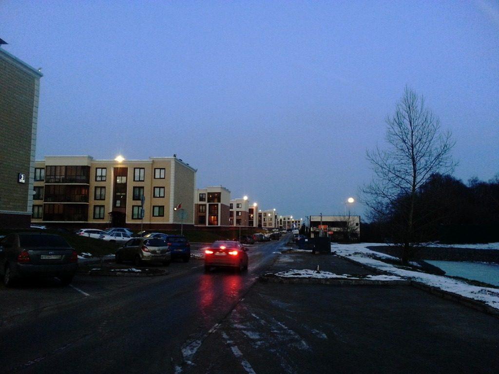 Новая Москва Новые Ватутинки Южный квартал новый год полнолуние